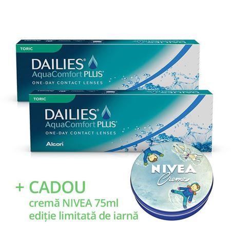 Imagine PROMO DAILIES AquaComfort Plus Toric (30 lentile)