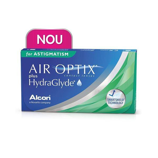 Imagine AIR OPTIX plus HydraGlyde for Astigmatism (3 lentile)