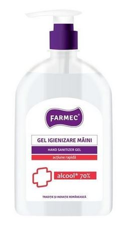 Imagine Gel Igienizare Maini, Alcool 70% - 500 ml